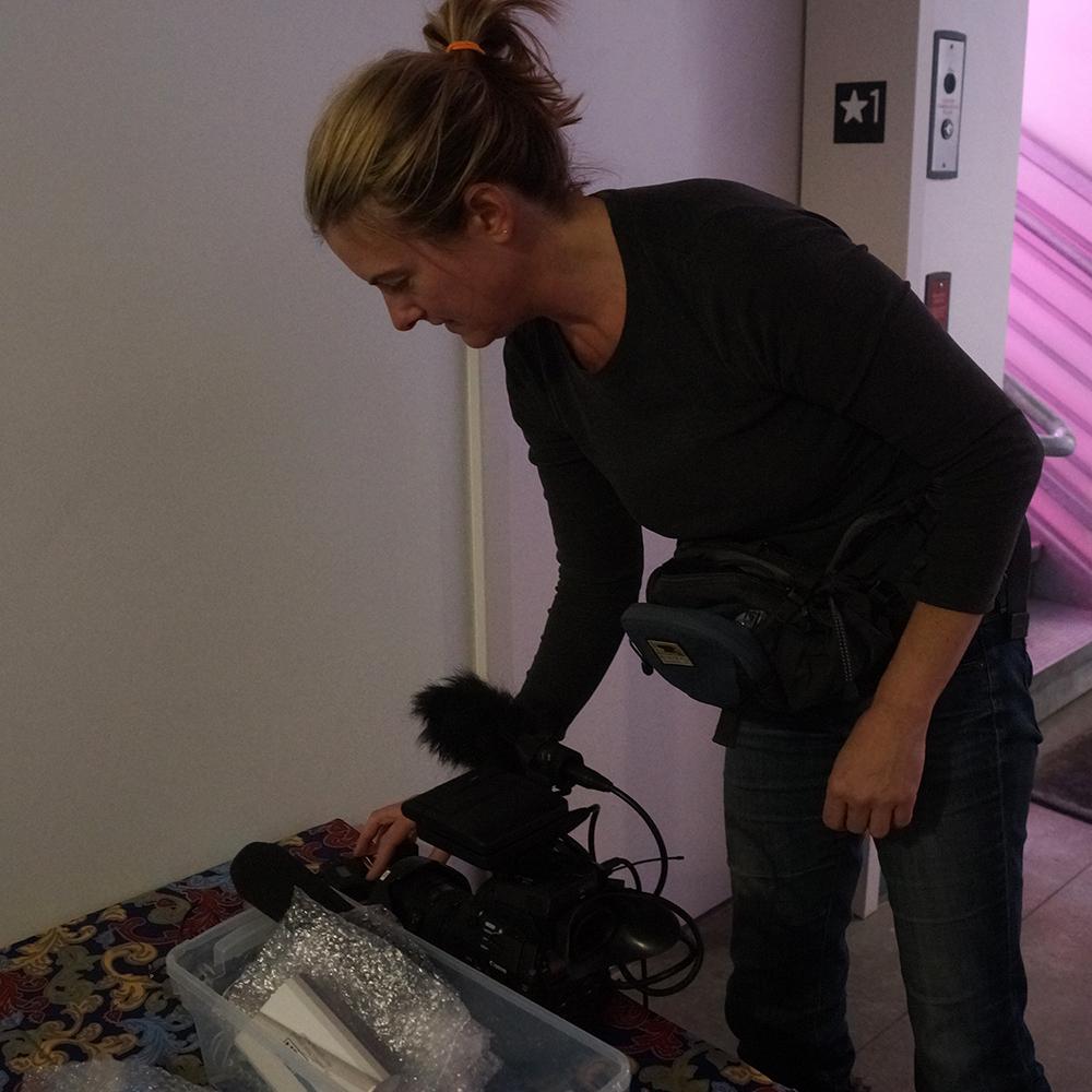 Photo of Filmmaker Melinda Binks (click for larger)